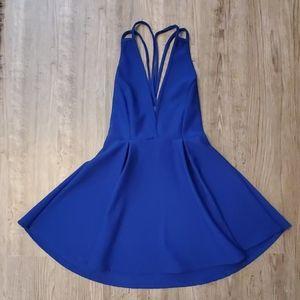 Windsor blue skater dress